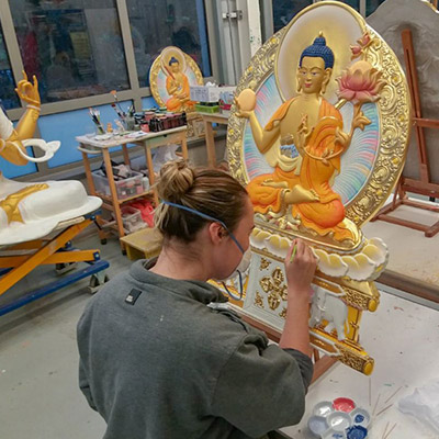 Kadampa art studio