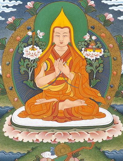 Lignaggio - Je Tsongkhapa