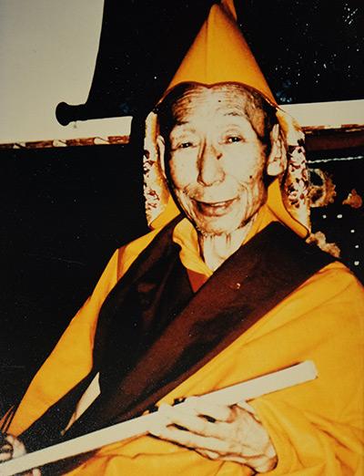 Lignaggio - Trijang Rinpoche