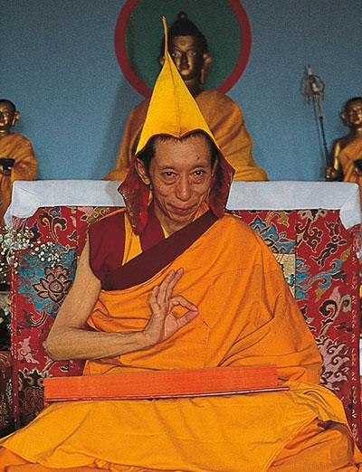 Lignaggio - Geshe Kelsang Gyatso Rinpoche