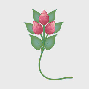 Medicine Buddha Flower - Copyright Edizioni Tharpa