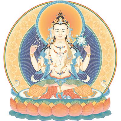 Pratica di Avalokiteshvara