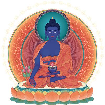 Preghiere rituali - Menla - Medicine Buddha