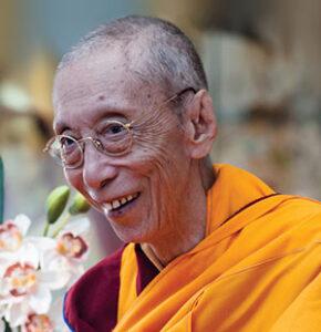 Ven Geshe Kelsang Gyatso Rinpoche - Prova di lettura